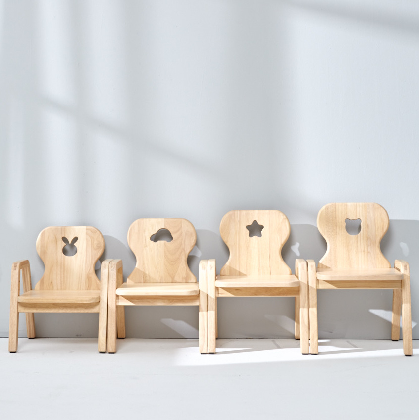 Adjustable Wooden Children's Chair