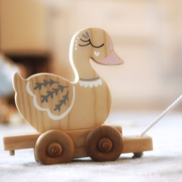 Handmade Wooden Pull Toy