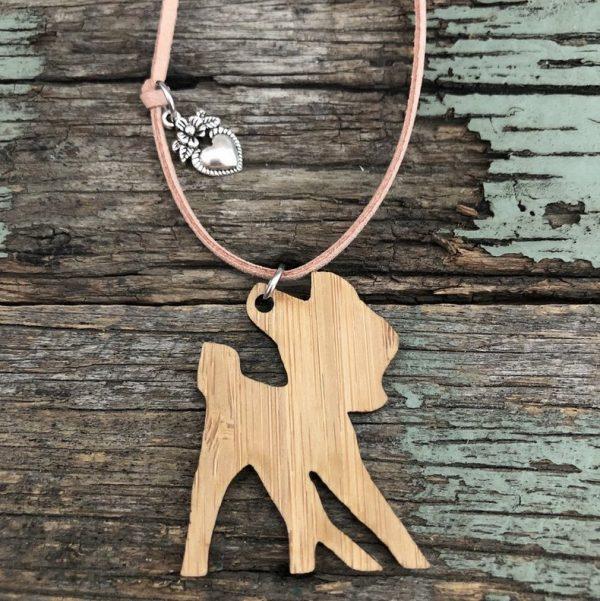 Bamboo Bambi Necklace