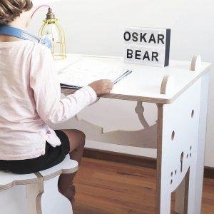 Oskar Table and Stool