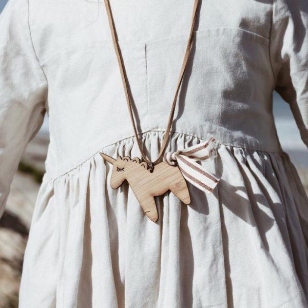 Fairy Bread Unicorn Necklace