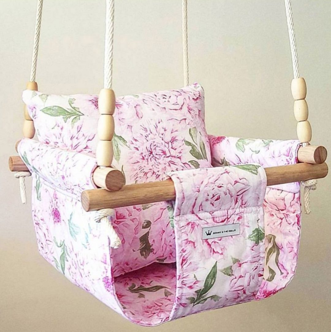 Baby & Toddler Swing   Pretty in Pink