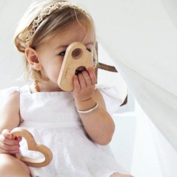 Wooden Teething Toy | Cloud